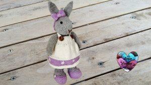 Tutoriels tricot doudou lapin amigurumi facile fait main tutoriel DIY Lidia Crochet Tricot