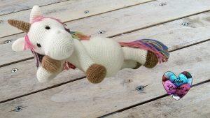 Licorne amigurumi tutoriel crochet DIY Lidia Crochet Tricot