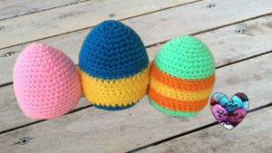 Tutoriels crochet Oeufs de Pâques amigurumi crochet fait main tutoriel DIY Lidia Crochet Tricot