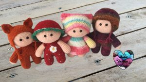 Poupouns amigurumi YoYo crochet tutoriel gratuit DIY Lidia Crochet Tricot