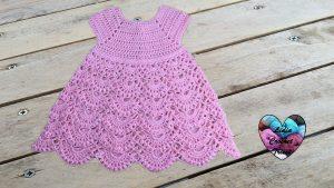 Robe princesse crochet Lidia Crochet Tricot