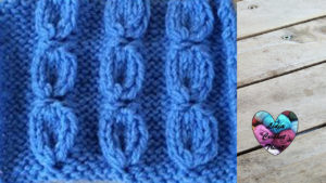 Points tricot Point graine tricot facile fait main tutoriel DIY Lidia Crochet Tricot