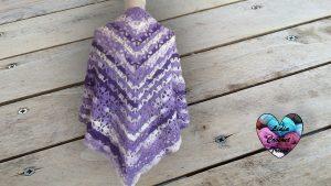 Châle crochet tutoriel gratuit DIY Lidia Crochet Tricot
