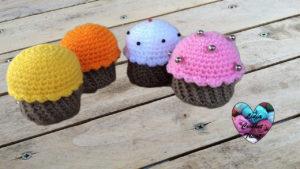 Tutoriels crochet Cup cake amigurumi crochet fait main tutoriel DIY Lidia Crochet Tricot