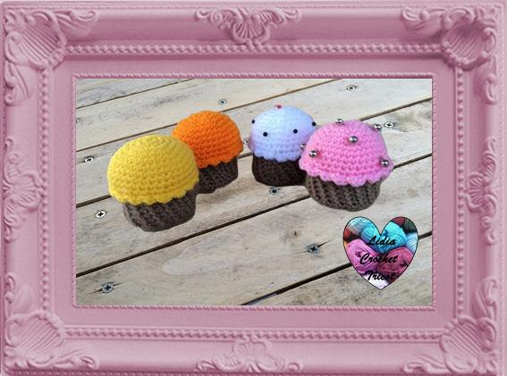 Cup cakes amigurumi crochet fait main tutoriel DIY