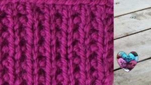 Points tricot Fausses côtes anglaises tricot facile fait main tutoriel DIY Lidia Crochet Tricot