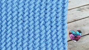 Points tricot en relief tricot facile fait main tutoriel DIY Lidia Crochet Tricot