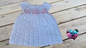 Tutoriels crochet Robe bébé crochet fait main tutoriel DIY Lidia Crochet Tricot