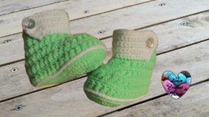 Tutoriels crochet Chaussons bottines crochet fait main tutoriel DIY Lidia Crochet Tricot