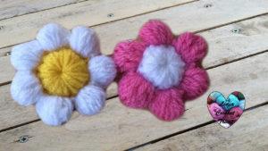 Tutoriels crochet Fleurs puff crochet fait main tutoriel DIY Lidia Crochet Tricot