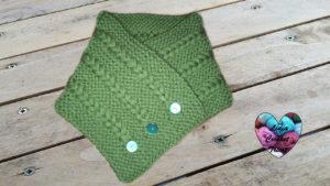 Tutoriels tricot Echarpe tour de cou tricot facile fait main tutoriel DIY Lidia Crochet Tricot