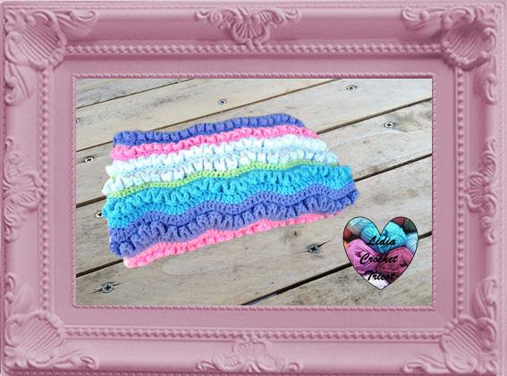 Couverture wiggly crochet fait main tutoriel