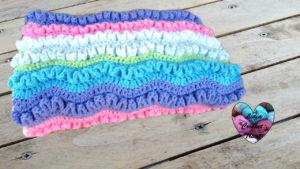 Tutoriels crochet Couverture wiggly crochet fait main tutoriel DIY Lidia Crochet Tricot