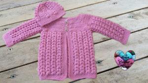Tutoriels crochet Brassière bébé épis de blé crochet fait main tutoriel DIY Lidia Crochet Tricot