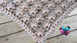 Tutoriels crochet Châle point salomon crochet fait main tutoriel DIY Lidia Crochet Tricot