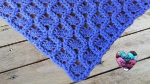 Tutoriels crochet Châle facile crochet fait main tutoriel DIY Lidia Crochet Tricot