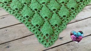 Tutoriels crochet Châle feuilles en relief crochet fait main tutoriel DIY Lidia Crochet Tricot