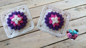 Tutoriels crochet Granny fleur pop corn crochet fait main tutoriel DIY Lidia Crochet Tricot