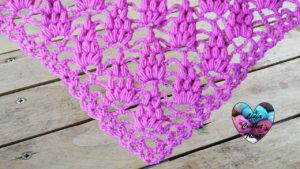 Tutoriels crochet Châle raisins crochet fait main tutoriel DIY Lidia Crochet Tricot