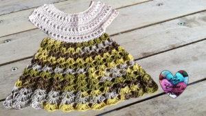 Robe bébé Lidia Crochet Tricot
