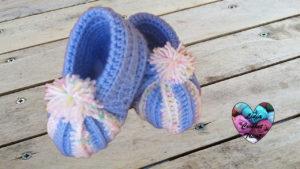 Tutoriels crochet Chaussons citrouille crochet fait main tutoriel DIY Lidia Crochet Tricot