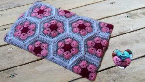 Tutoriels crochet Couverture fleur africaine crochet fait main tutoriel DIY Lidia Crochet Tricot