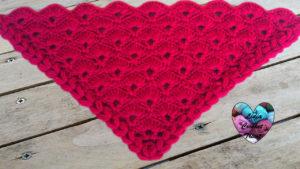 Tutoriels crochet Châle éventail crochet fait main tutoriel DIY Lidia Crochet Tricot