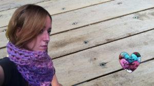 Crocheter avec les doigts Snood express rapide crocheter avec les doigts tutoriel DIY Lidia Crochet Tricot