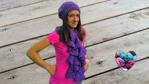 Tutoriels crochet Ensemble bonnet écharpe femme crochet fait main tutoriel DIY Lidia Crochet Tricot