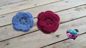 Tutoriels crochet Fleur facile crochet fait main tutoriel DIY Lidia Crochet Tricot