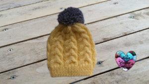 Tutoriels tricot Bonnet torsade bébé tricot facile fait main tutoriel DIY Lidia Crochet Tricot