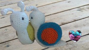 Tutoriels crochet Escargot amigurumi crochet fait main tutoriel DIY Lidia Crochet Tricot