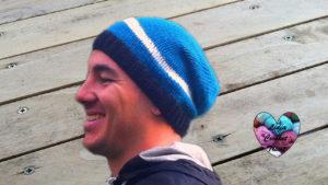 Tutoriels tricot Bonnet homme tricot facile fait main tutoriel DIY Lidia Crochet Tricot