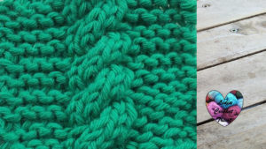 Points tricot Torsade tricot facile fait main tutoriel DIY Lidia Crochet Tricot