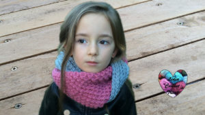 Tutoriels crochet Snood crochet tricot crochet fait main tutoriel DIY Lidia Crochet Tricot