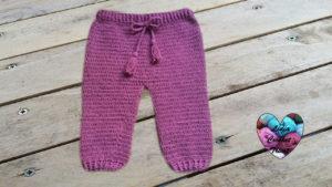 Tutoriels crochet Pantalon bébé crochet fait main tutoriel DIY Lidia Crochet Tricot