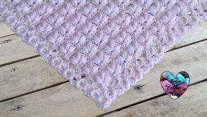Châle fleuri crochet tutoriel gratuit DIY Lidia Crochet Tricot