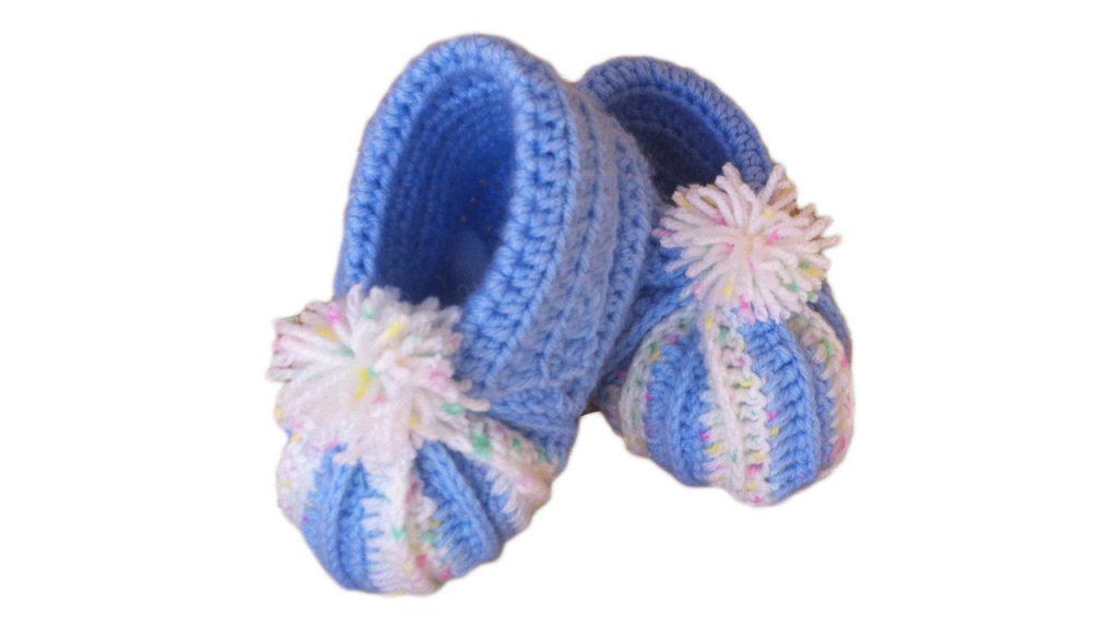Chaussons bébé tailles crochet tricot Lidia Crochet Tricot
