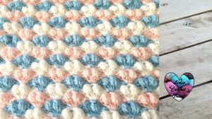 Point splendide couverture Lidia Crochet Tricot