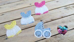 Souvenirs baptême tutoriel gratuit DIY Lidia Crochet Tricot