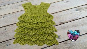 Robe merveille tutoriel gratuit DIY Lidia Crochet Tricot