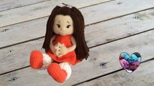 Poupée Paula au crochet tutoriel gratuit DIY Lidia Crochet Tricot