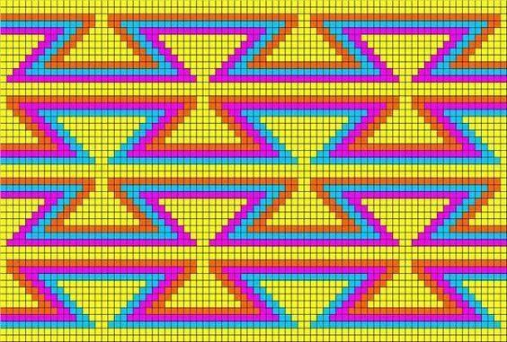 Schéma modèle gratuit Mochila Wayuu Lidia Crochet Tricot