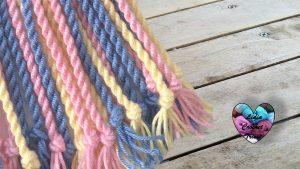 Cordon pour Gasa Mochila Wayuu Lidia Crochet Tricot
