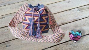 Sac Mochila Wayuu Lidia Crochet Tricot