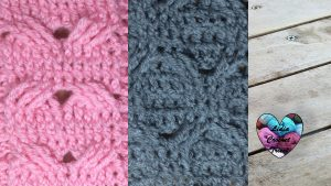 4 torsades au crochet Lidia Crochet Tricot