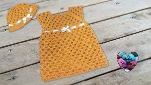 Robe granny au crochet tutoriel gratuit DIY Lidia Crochet Tricot