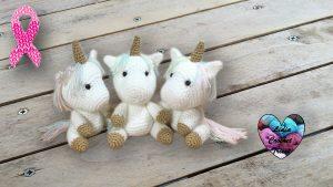 Bébé licorne crochet DIY Lidia Crochet Tricot