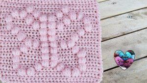 Carré papillon crochet DIY Lidia Crochet Tricot