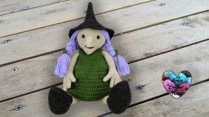 Sorcière Halloween Lidia Crochet Tricot